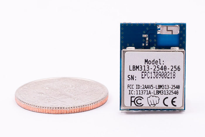 LBM313 module with dime